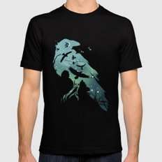 Night's Watch Black Mens Fitted Tee MEDIUM