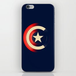 Captain iPhone Skin