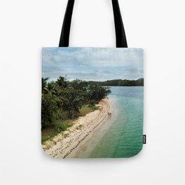 Tropical Beach Vibes in Fiji Islands Tote Bag