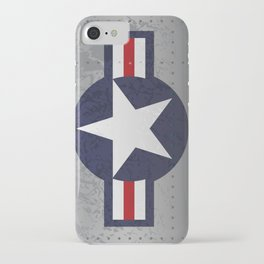 U.S. Military Aviation Star National Roundel Insignia iPhone Case