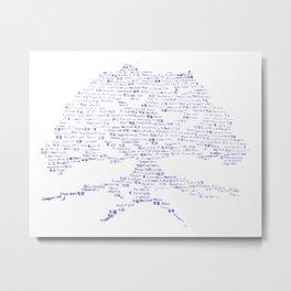 Tree of Virtues Metal Print