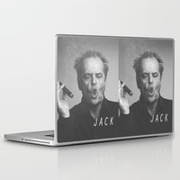 jack nicholson Laptop & iPad Skins featuring Jack / Nicholson by Earl of Grey