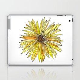 Yellow Gerber Daisy Laptop & iPad Skin