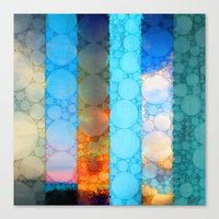 blues Canvas Prints featuring Blues by Olivia Joy St.Claire - Modern Nature / T