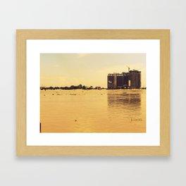 Construction Site #2 Framed Art Print
