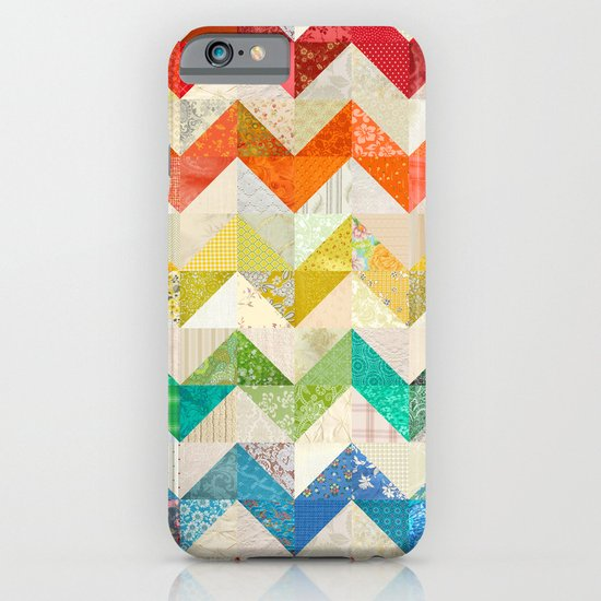 Chevron Rainbow Quilt iPhone & iPod Case