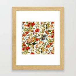 Mushroom Dreams 2 Framed Art Print