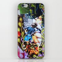 vegetable iPhone & iPod Skins featuring Vegetable Gremlin by John Turck