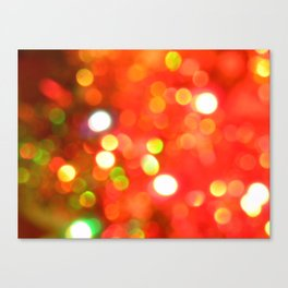 Bright lights. Canvas Print