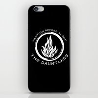 divergent iPhone & iPod Skins featuring Divergent - The Dauntless by Lunil