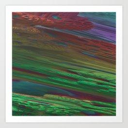 Fractal Multicolor Art Print