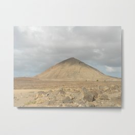 The Lonely Mountain Metal Print