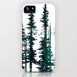 Evergreen tree mug iPhone Case