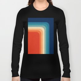 Retro 70s Color Palette III Long Sleeve T-shirt