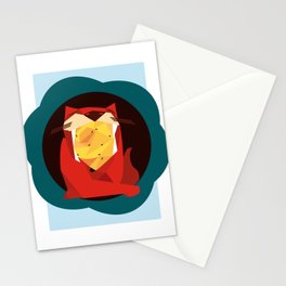cat&birds Stationery Cards