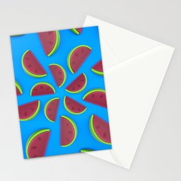 Watermelon Chew Candy Stationery Cards