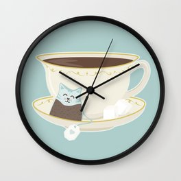 Kit-Tea Wall Clock