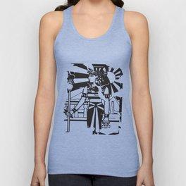 Egyptian Ankh Woman Ancient History Empire Cleopatra Illuminati T-Shirts Unisex Tank Top