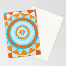 Blue Blooms Stationery Cards