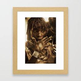Ethiopia 2 Framed Art Print