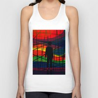 eternal sunshine of the spotless mind Tank Tops featuring Imprisoned Mind by Rendra Sy