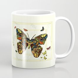 Colorful Butterfly Collage Coffee Mug