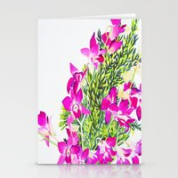 singapore Stationery Cards featuring Singapore Orchids by marlene holdsworth