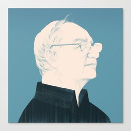Architect Portraits: Frank Gehry Canvas Print