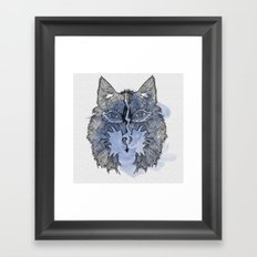 Wolfee Framed Art Print