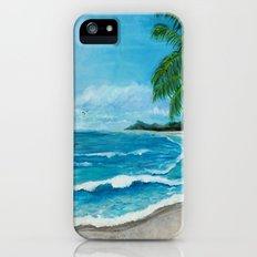 Tropical Beach iPhone (5, 5s) Slim Case