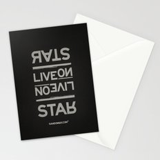 Palindrome: Rats Live On... Stationery Cards