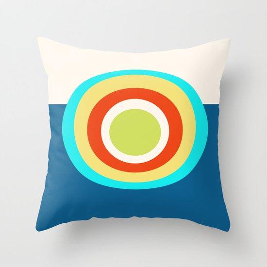 FULL CIRCLE Throw Pillow