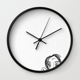 Portrait of an Unknown Artist Wall Clock