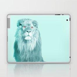 lion in blue Laptop & iPad Skin