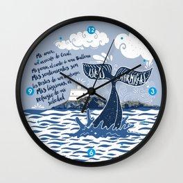 Faro de Islas Hormigas Wall Clock