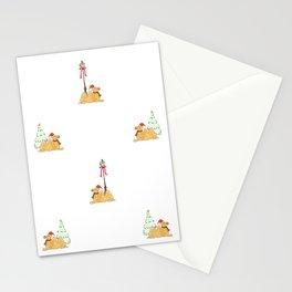 Christmas Camel Pattern Stationery Cards