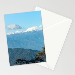 Bhutan: Sunset on Himalaya Stationery Cards