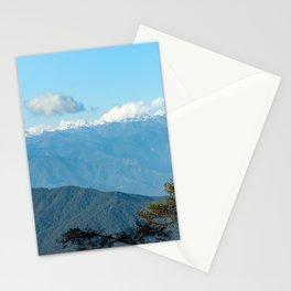 Bhutan: Sunset on Himalaya Stationery Cards