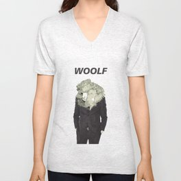 Woolf Unisex V-Neck