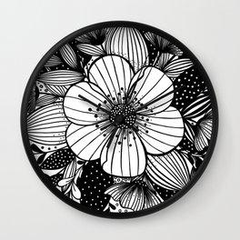 My Garden Wall Clock