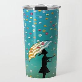 It's Raining Flowers Travel Mug