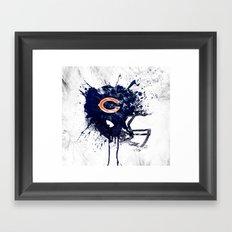 Bear Down Framed Art Print