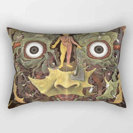 Journey of The Wounded Healer  Rectangular Pillow