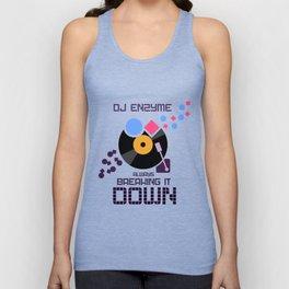 DJ Enzyme - Always Breaking It Down Unisex Tank Top