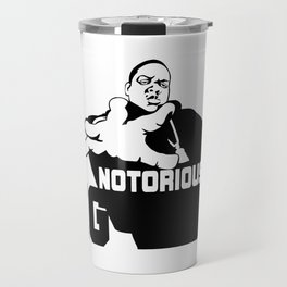 Biggie Stencil Travel Mug