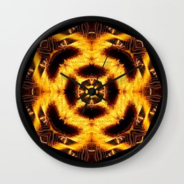 Frazzled Wall Clock