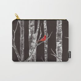 Lone Cardinal Carry-All Pouch