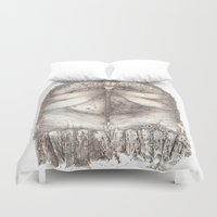 key Duvet Covers featuring KEY by REALM ILIFF