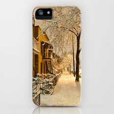 Montreal under the snow Slim Case iPhone (5, 5s)