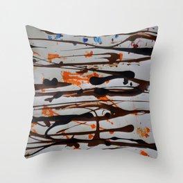 Splash Mountain Throw Pillow